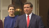 DeSantis and wife